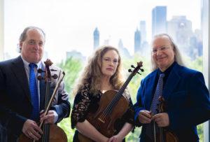 Ronald Thomas, cello; Patricia McCarty, viola; Arturo Delmoni, violin