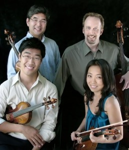 The Johannes Quartet C.J. Chang, viola; Peter Stumpf, cello Soovin Kim and Jessica Lee, violin